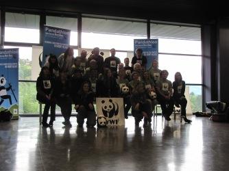 L'équipe du Pandathlon